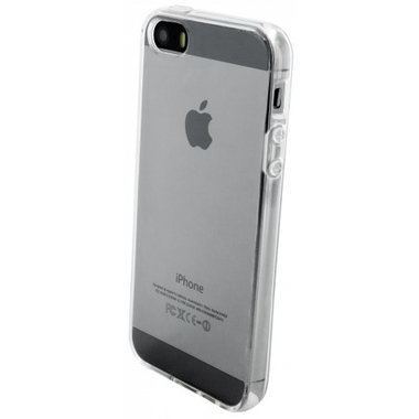 Apple iPhone 5S transparante case - siliconen