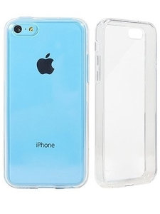 Apple iPhone 5C transparante case - siliconen